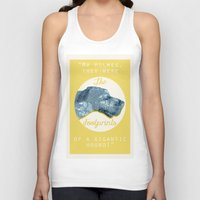 the hound Tank Tops featuring HOUND. by LiseRichardson