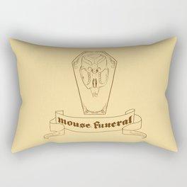Mouse Funeral Rectangular Pillow
