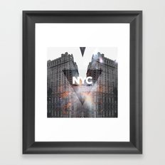 NYC - I Love New York 5 Framed Art Print