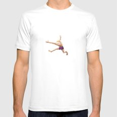 Water White Mens Fitted Tee MEDIUM