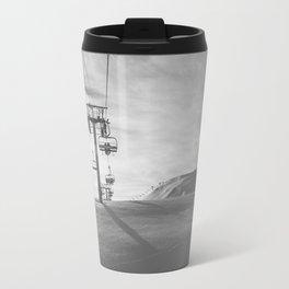 Alps ski lifts Travel Mug
