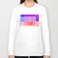 numbers Long Sleeve T-shirts featuring The numbers by tuditees