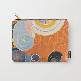 The Ten Largest, Group IV, No.4 by Hilma af Klint Carry-All Pouch