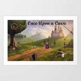 Once Upon a Curse Art Print