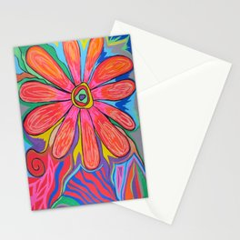First big flower Stationery Cards