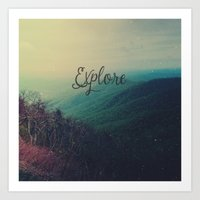 explore Art Prints featuring Explore by Olivia Joy StClaire