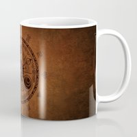 legend of zelda Mugs featuring The Legend Of Zelda by Electra
