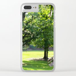 Florida Beauty Clear iPhone Case