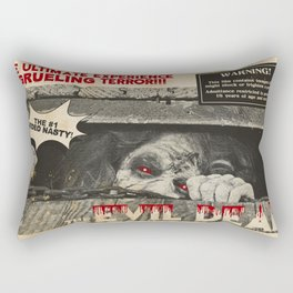 Evil Dead Movie Poster Rectangular Pillow