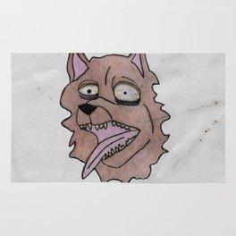 stray dog Rug
