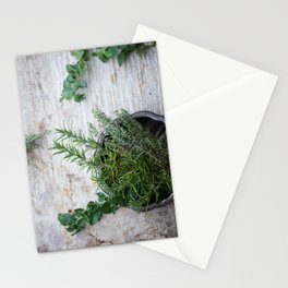 Fresh Herbs Stationery Cards