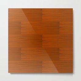 Wood Grain Pattern Metal Print