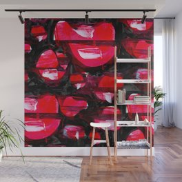 Shade of Red Wall Mural