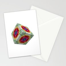 Oriental Smoke 2 3D Cube Stationery Cards