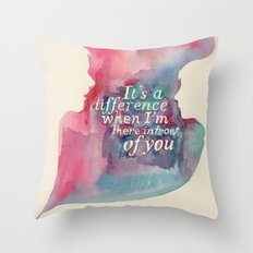My Touch Throw Pillow