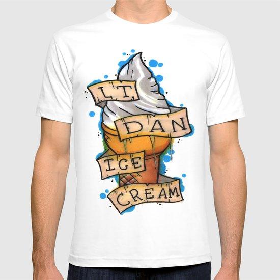 Lieutenant Dan Ice Cream Shirt Lt. Dan Ice Cream! T-s...