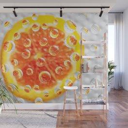 AJKG *Orange* Wall Mural