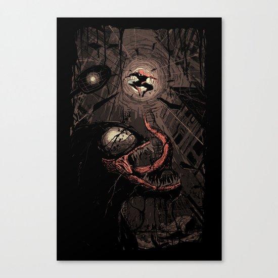 Element of Surprise Canvas Print