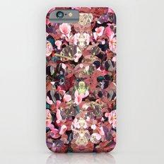 Pink Spot Floral Slim Case iPhone 6s