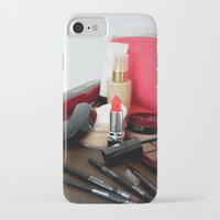 make up iPhone & iPod Cases featuring Make-Up by Tanya Thomas