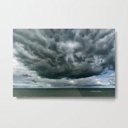 Lake Huron Storm Metal Print