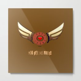 You Give Me Wings Metal Print