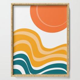 Sun Dunes 03 Serving Tray