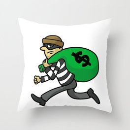 TAXATION IS THEFT Accountant Tax Evasion taxpayer Throw Pillow