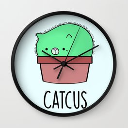 Catcus Wall Clock