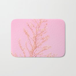 Seeds of Weeds in Pink Bath Mat
