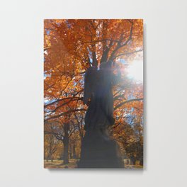 Angel summoning the light Metal Print