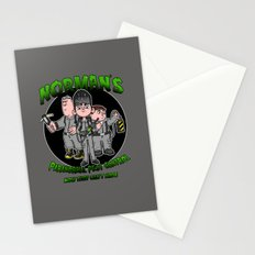 Norman's Paranormal Pest Control Stationery Cards