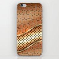 anaconda iPhone & iPod Skins featuring Blingin Anaconda by Robin Curtiss