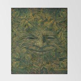 GreenMan Throw Blanket