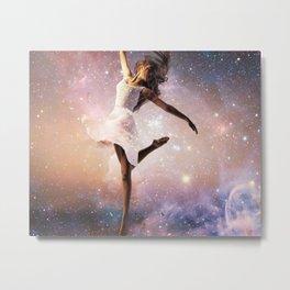 Universe Ballerina Metal Print