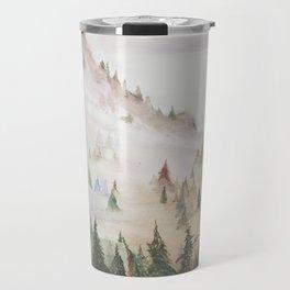Forêt dans la brume Travel Mug