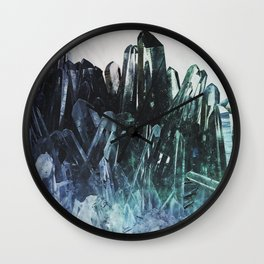 Ice quartz Wall Clock