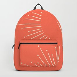Simply Sunburst in Deep Coral Backpack