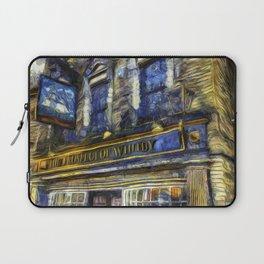 The Prospect Of Whitby Pub Art Laptop Sleeve