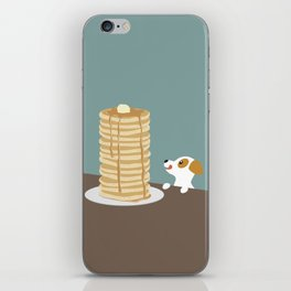 Hungry Dog  iPhone Skin