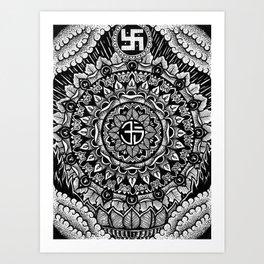 Buddhist Mandala  Art Print