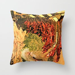 Tuscan Color Throw Pillow