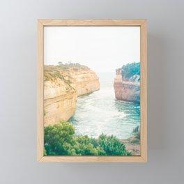 Great Ocean Road Beach Fine Art Print Framed Mini Art Print