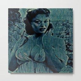 Digital Curving Metal Print