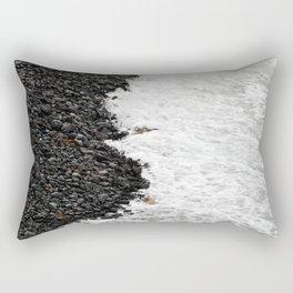Tide on a Rocky Shore Rectangular Pillow