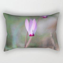 The Flaming Flower Rectangular Pillow