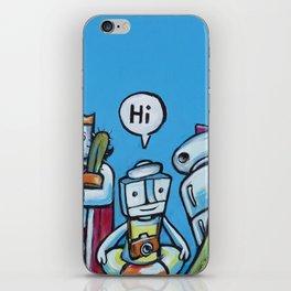 """Everyone Says """"Hi"""" iPhone Skin"""