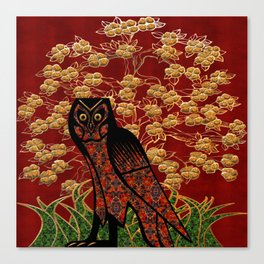 Owl Tapestry Canvas Print