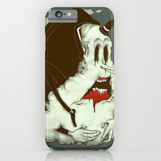 Creep Cloud Face Melt iPhone & iPod Case