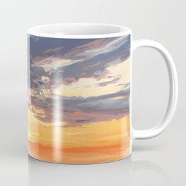Sunset on the St George River 3 Coffee Mug